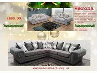 XMAS CRACKER***VERONA SOFA COLLECTION ****BRAND NEW 3+2 SETS AND CORNER SOFA'S***