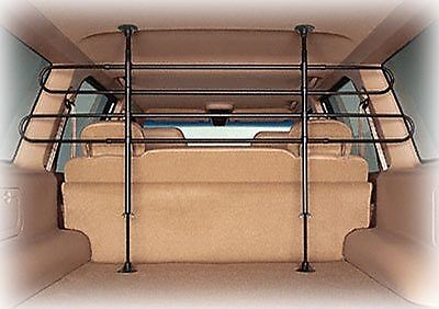 Universal Pet Barrier Mesh Car Suv Adjustable Divider Bar Dog Safety Fence Van