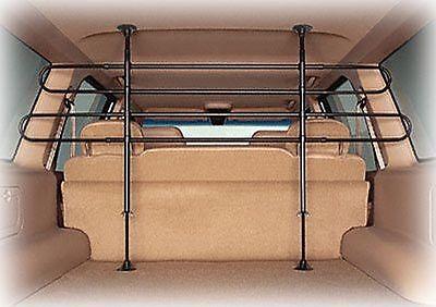 Universal Pet Barrier Mesh Car Suv Adjustable Divider Bar Dog Saafety Fence Van
