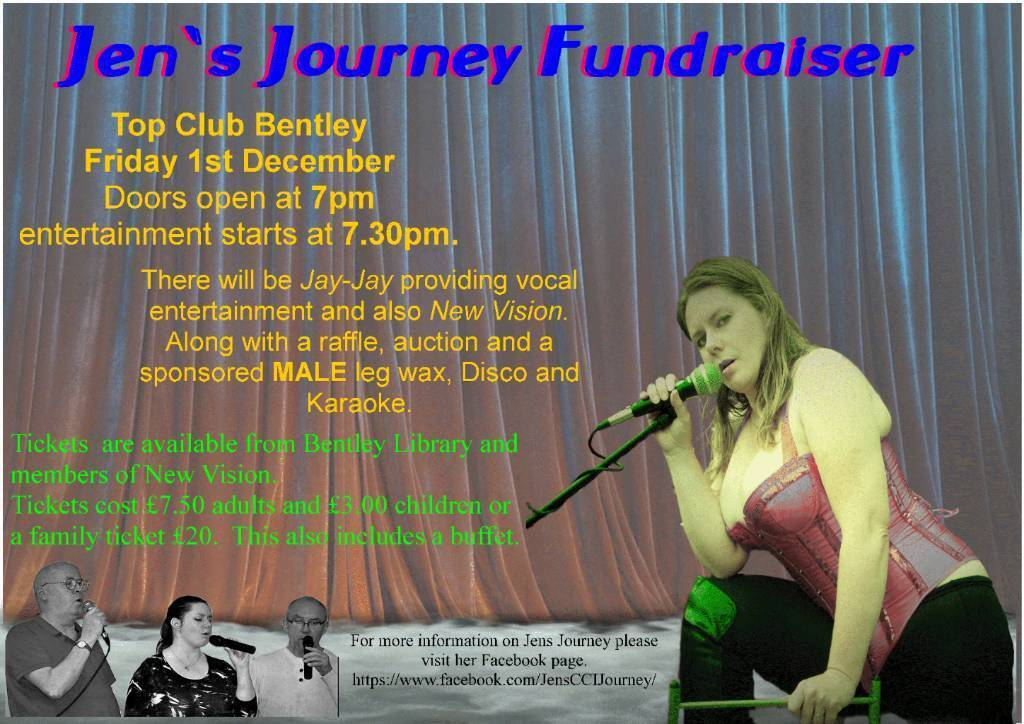 JEN'S JOURNEY Fundraising spectacular