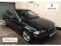 Bmw 320i Se Limited edition 170bhp Rare Iconic Car Fully Loaded Heated Leather 3 Month Warranty