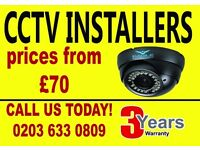 London's Favourite CCTV systems with 3 YEARS warranty- Reliable systems