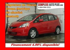 2014 Honda Fit LX *Bluetooth, A/C, Groupe élec.