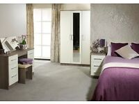 Milano Bedroom Furniture **Home Delivery Available**
