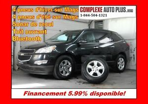 2010 Chevrolet Traverse LT AWD 8 passagers *Toit panoramique