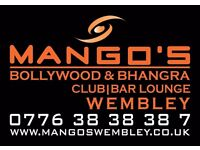 IMMEDIATE Bar Staff & Bar/Club Manager Required - Staff Required for a Indian Club in Wembley London