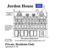 I bed flat, Nairn, Leopold Street