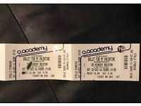 2 x Bullet For My Valentine & Killswitch Engage Tickets Brixton 10th December 2016
