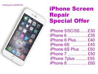 iPhone and iPad screen repair special offer in Leicester