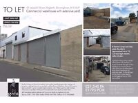 Commercial yard and office in digbeth 'open to sensible offers'