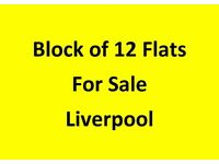 For Sale - Block of 12 Flats - Liverpool L9