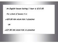 ENGLISH LESSONS - PRONUNCIATION- CONVERSATION-GRAMMAR & SKYPE