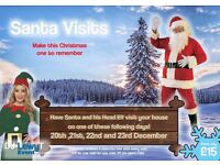 Santa and Elf Visits | From £15 | Liverpool | Each child receives a selection box with every visit |