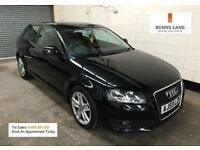 2009 59 Audi A3 2.0 Tdi Sport *1 Former Keeper* Full Stamped History 12 Month mot 3 Month Warranty