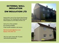 EXTERNAL WALL INSULATION funding avilable