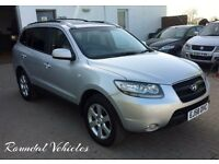 NOW REDUCED 2008 Hyundai Santa Fe CDX+ auto, TOP OF RANGE, FSH 13 stamps, 12 months mot, towbar !