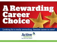 Night Support/Care Worker near Harwich, up to £9.50