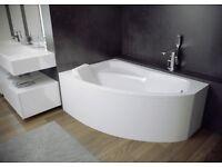 *HOMEMANIA SHOP* Bathroom fixtures, Bathtubs, Deep shower trays, Shower cabins, SPACE SAVER BATHS