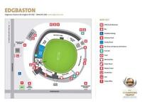 2 x Silver tickets for ICC Champions Trophy 2nd Semi-Final