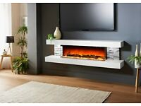 Evolution Fires Vegas 72 inches FLOATING FIREPLACES ANY COLOUR