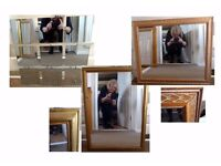 3 Lovely Mirrors in Excellent Condition
