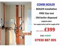£399 BOILER INSTALLATION,BACKBOILER REMOVED,HEATING,PIPING,HOB,COOKER,SERVICE,GAS LEAK REPAIR