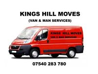 VAN AND MAN SERVICES by KINGS HILL MOVES
