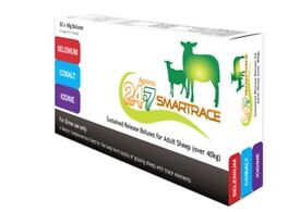 Agrimin 24-7 Smartrace For Sheep 50 Pack Diet Nutritional Feed Supplement
