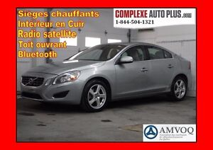 2013 Volvo S60 S60 T5 AWD 4x4 *Cuir, Toit ouvrant