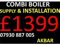 BOILER INSTALLATION,REPLACEMENT,heating,PLUMBING,megaflo,TANKS REMOVED,gas safe,VAILLANT,WORCESTER