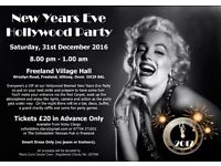 New Years Eve Hollywood Themed Party in aid of Marie Curie Cancer Care