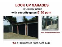 Lock Up Garages with Security Gates - £120 pcm
