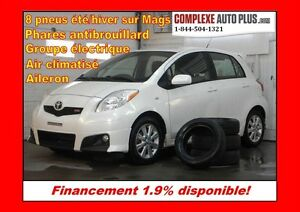 2011 Toyota Yaris RS Sport *Mags,Jupes,Aileron, Fogs