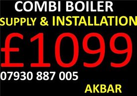 NEW BOILER REPLACEMENT, INSTALLATION, back boiler removed, MEGAFLO, powerfush, GAS SAFE HEATING,