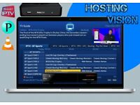 Hosting Vision IPTV - The home of quality entertainment - All devices compatible