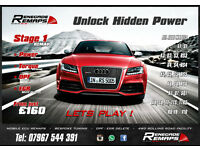 Power REMAP for AUDI inc S-Line & RS (A1, A3, Q3, A4, A5, Q5, A6, A7, Q7, A8, TT, 1.9, 2.0 TDI, DPF)