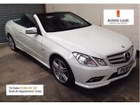 Mercedes Benz E250 Convertible Auto 1 Owner Fsh Immaculate Condition Very High Spec 3 Month Warranty