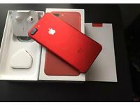 IPhone 7 Plus 128 GB RED Locked to EE Not used