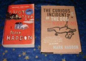 x2 books by Mark Haddon