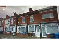 2 bedroomed terrace house to let in Hull