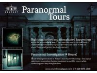 Two tickets for Crumlin Road Jail Paranormal Tour - Tonight 20.30