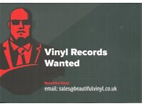 WANTED - VINYL RECORDS - TOP PRICES PAID