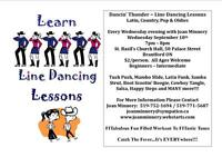 Line Dancing Lessons