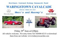 WARINGSTOWN CAVALCADE 2018 CLASSIC CARS, TRUCKS & MOTORBIKES - Special Theme Mercedes & Massey's