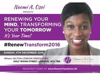 Renewing Your Mind, Transforming Your Tomorrow - START 2017 RIGHT - WORKSHOP