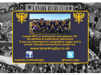 Lanark Rugby Club - New Players