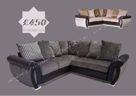 HELIX CORNER SOFA, £450 FREE DELIVERY TO MOST UK POSTCODES***