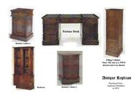 Antique Replica Office Furniture