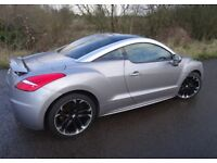 2011 Peugeot RCZ 160BHP, White Leather, 19 Inch alloys