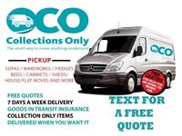 MAN AND VAN MANCHESTER from £13 single item pickup.From £45 House/flat move. All areas covered